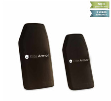 Elite-Armor Single Curved Hard Armor Plate | III ICW (AL203)