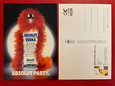 ABSOLUT PARTY Cartolina Cool Card vodka Taiwan Freecard