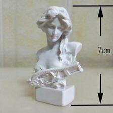 Sona Goddess Bust Art Sculpture Home Mini Gypsum Statue For Home Decoration