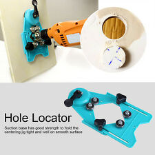 Adjustable 4mm-80mm Diamond Drill Bit Hole Saw Guide Sucker Base Locator Green