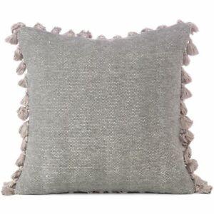 Dhurrie Sofa Pillow Cover, Bohemian Cushion Case for Couch, Decorative Boho Thro