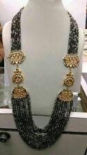 Babosa Sakhi Long Kundan Necklace Rugged look String Bollywood Indian Jewelry