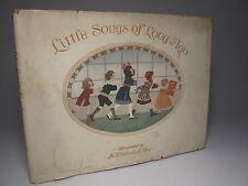 "1912 kleine songs of long ago ""von le mair 1st dj alte kinderreime london"