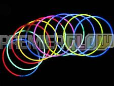 23inch Glow Stick Necklaces Premium Quality Neon Party Favor Assorted(50 pieces)