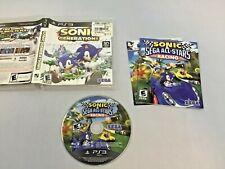 SONIC Generations PS3 - PS3 - B+ Condition - Complete - Tested