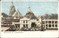 India Temples of Jagaunath c1905 Postcard