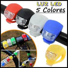 Luz LED para Bicicleta con 3 Modos de Iluminación Mountain Bike Bici Linterna