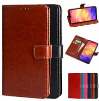 Luxury PU Leather Wallet Card Flip Stand Case For Xiaomi Redmi Note 7 / 7 Pro