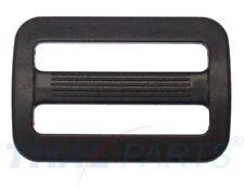 10 St. Schieber ( Stopper ) 30mm für Gurtband Regulator Kunststoff Acetal