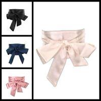 New Woman Wide Satin Sash Wrap Tie Belts Cummerbund Fashion Wedding