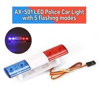 AX-501 Multi-function Flashing LED Police RC Car Light Bar for 1/10 1/8 aI