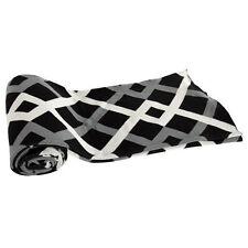 "Cotton Cashmere-Like Throw Blanket 50x60"" Black - T37590Blac"