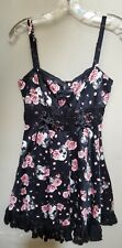 Hot Topic Pink Blossoms Skull Dress - Small