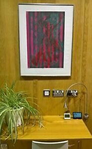 """STANLEY WILLIAM HAYTER (1901-88) """"RIDEAU"""" SIGNED ARTISTS PROOF NUMBER 4 OF 5"""
