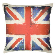NEW! UK Flag British Union Jack England Throw Pillow Indoor Outdoor Cushion Gift