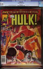 Hulk # 25 Cgc 9.8 White (Marvel, 1981) Joe Jusko cover