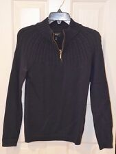 NWT Land's End Drifter Cable Half Zip mock Cardigan Sweater  XS 2-4