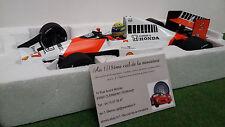 F1 McLAREN HONDA MP4/5B #27 SENNA 1990 1/18 MINICHAMPS 540901827 voiture miniat