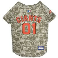 San Francisco Giants MLB Officially Licensed Dog Pet Camo Jersey Sizes XS-XL