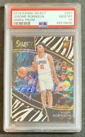 2018-19 SELECT JEROME ROBINSON ROOKIE RC SSP ZEBRA COURTSIDE CASE HIT PSA 10 💎