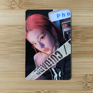 Kpop Itzy Official Guess Who Album Mafia In The Morning Yeji Photocard