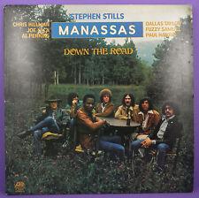 Stephen Stills, Manassas - Down The Road, Original UK 1ST PRESS LP 1973