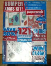 Papercraft Essentials magazine #192 2020 Hints & Tips + Bumper Christmas Kit