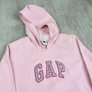 Vintage Style Gap Athletic Spellout Hoodie / Hooded Sweatshirt