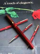 Marbled Red Pilot ( Namiki ) Minuet  Fountain Pen Fine GP Nib
