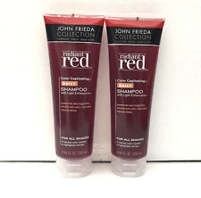 2 John Frieda Radiant Red Color Captivating Daily Shampoo-8.45oz