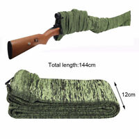 """54"""" arme long chaussette antipoussière manchon titulaire étui à fusil de chasse"""