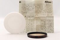 @ Shipped in 24 Hours @ Nikon Black Rim Screw-In Mount A2 Amber 52mm Lens Filter