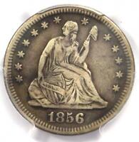 1856-S Seated Liberty Quarter 25C - Certified PCGS VF Details - Rare Date Coin!