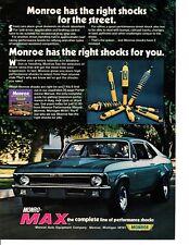 1968-72 CHEVROLET NOVA ~ ORIGINAL MONROE AD