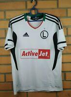 Legia Warsaw Jersey 2012 2013 Home Youth 13-14 Shirt V16964 Soccer Adidas Trikot
