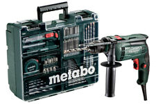 Metabo SBE 650 mobile Werkstatt mit 79-teiligem Zubehör Bohren Schrauben mobil