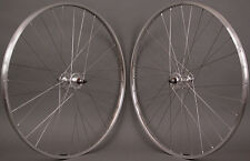 H  Plus Son TB14 Silver Rims Fixed Gear Track Bike SingleSpeed Wheelset Wheels