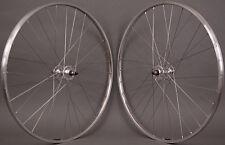 H  Plus Son TB14 Silver Rims Fixed Gear Track Bike SingleSpeed Wheelset Wheels
