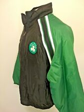 Reebok Vintage Boston Celtics Jacket Embroidered Patch NBA Size XL