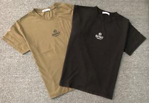 Ena Pelly Womens Olive Black Logo T-shirt Classic S/Sleeve Cotton Jersey SZ 6-16