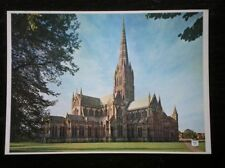 POSTCARD WILTSHIRE SALISBURY CATHEDRAL FROM NORTH EAST