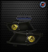 Fog Lights Mitsubishi Lancer 2004-2006 NO EVO OEM - Yellow