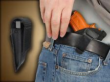 Barsony IWB Concealment Gun Holster + Magazine Pouch for Taurus TCP 738 .380