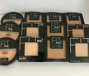 Maybelline Fit Me Matte+Poreless / Set+Smooth Pressed Powder Please Choose Shade
