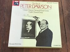 the art of peter dawson - opera & songs ( two cassettes )