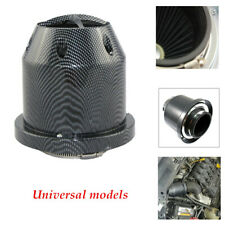 Carbon Fiber Universal 3''76mm Car Cold Air Intake Filter Cleaner Mushroom Head