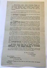 Inland Revenue Unfolded Paper/Envelopes Impressed Stamps Sto Stationery 1902