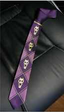 JoJo's Bizarre Adventure KILLER QUEEN Heavens Door Purple Tie Top Quality Cos
