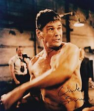 Charles Bronson signed 8x10 color photo
