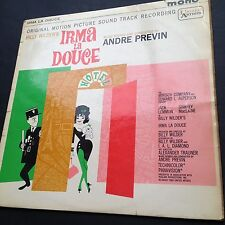IRMA LA DOUCE LP Film Soundtrack OST Andre Previn Billy Wilder 1963 Jack Lemmon
